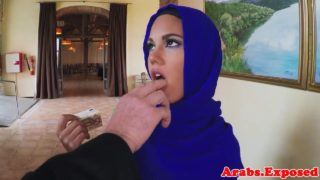 Arabs Exposed – Arab Doing Sloppy Blowjob For Fifty Euros