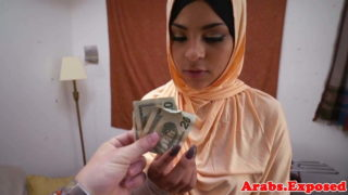 Arabs Exposed – Pretty Face Teen Jasmine Caro Sucking for Cash